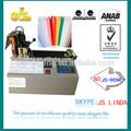 2014 la venta superior JS-909 automático modo caliente hs código para embalaje de corte de cinta de la máquina