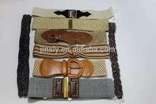2014 summer dress cotton belt / dress with elastic waist belt