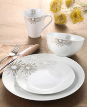royal white porcelain tableware
