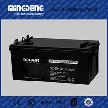 sla agm solar power units 12v 200ah lead acid battery