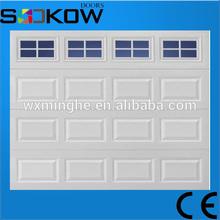 overhead garage door CE approved with motor