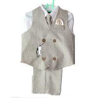 New design professional child baby boy vest suit
