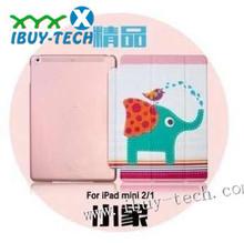 luxury pc+leather case for ipad air, designer leather water proof case for ipad air