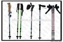 TUV/SGS Stiffer Adjustable Aluminum Carbon Trekking Stick Hiking Poles