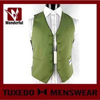 Top grade unique mens vest with pocket