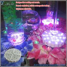 Christmas decoration enhance aura floral shape multicolor led base