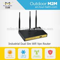 F3B32 Industrial Multi Sim Modem 3G Load Balance Dual Sim Card Router,Dual Sim WIFI Router