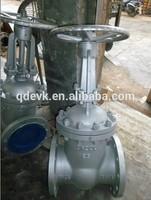 carbon steel flange gate valve rising stem