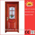 Top venda porta de madeira janela sc-s097 modelos