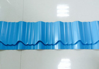 High quality color coated corrugated steel tile for roof and wall