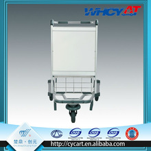 New design foldable aluminum alloy trolley,airport stair climbing wheel manufactures