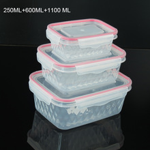 PP waterproof food storage containers