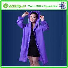 Promotional Environmental EVA Poncho raincoat