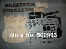 SNGK012 DIY Double Neck Electric Guitar Kits