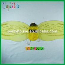 piccolo bella giallo di seta carino ape ala