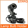 Photography Equipment E27 Lamp bulb Holder With Wire Switch Hot Shoe Bracket