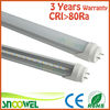 High quality 3year warranty CE ROHS electronic ballast compatible t8 led tube bulb