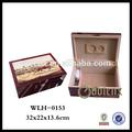 shenzhen de promoción de la melamina de madera del cigarro humidor cajas