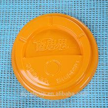 High Quality Food Grade Plastic Lid/plastic lid for canned food/large plastic lids