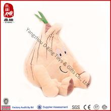 China wholesale education baby toy stuffed plush vegetable onion soft toy