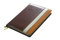 thick seamed leather notebook from chinese