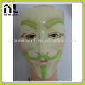 projeto personalizado venda quente látex velho máscara