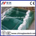 Ccc/CE/ISO- costruzione approvati.- usato personalizzato chiaro/colorato 12mm vetro temperato costo