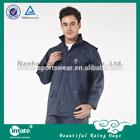 Adult male nylon raincoat rain pants suit
