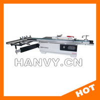 precision wood cutting sliding table saw machine
