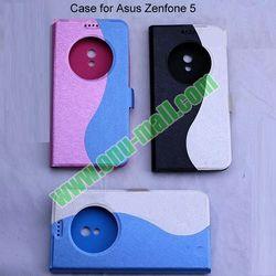 Caller ID Display Window Fancy Phone Case Cover for Asus Zenfone 5