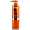 Natural orange shine salon hair elastin