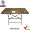 madeira de espessura ardósia velho retrátil mesa de jantar