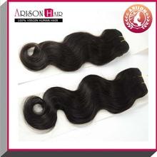Wholesale price body wave human unprocessed virgin brazillian hair