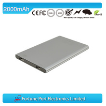 ultrathin portable multi power charger rohs ce fcc