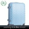 Fashion Boarding Case , Blue Small Dot Travel Trolley Luggage
