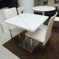 Table rectangulaire en acrylique transparent/table acrylique/solide table de surface