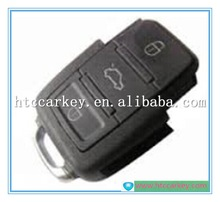 Top quality key case or cover for VW 3 Button Remote Control 434MHZ 1JO 959 753 G Car Key Shell