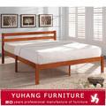 de madera maciza modelos de cama cómoda del dormitorio
