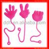Plastic fun sticky hand toy/novelty sticky toy/promotion gift