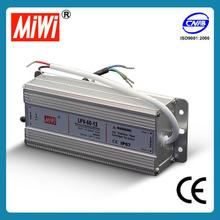 LPV-60 waterproof LED power supply 5a ip67