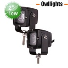 High Quality High Lumen Universal 10w Motorcycle LED Headlight China Manufacturer 10w LED Driving Light Spotlight 4x4 Offroad