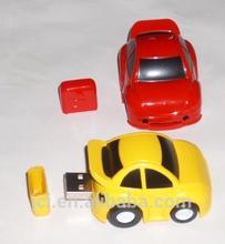 OEM plastic car shape flash drive ,toy car USB stick with logo