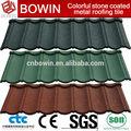 Metal telha embalagem da pálete/chapas onduladas/revestida de telhas