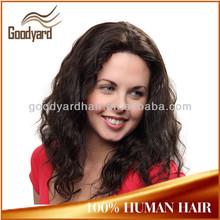 Good quality glueless silk top afro kinky micro braids human hair full lace wig