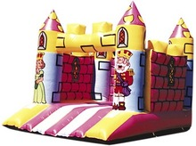 The king and princess inflatable castle, jumping castle,jumping bouncer W1038