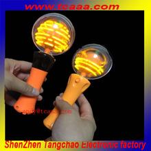 LED flashing spin ball toys