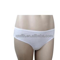 Briars Disposable underwear Purified Cotton Disposable pants Sterility hotel supplies Sauna Beauty Salon Women's 4 pieces