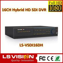LS VISION 16 channel 1080p 30fps 16ch hd sdi hybrid dvr