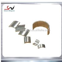 new design high performance Cheap sintered ndfeb arc magnets