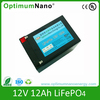 Hot sale battery Rechargeable lifepo4 battery 12v 12ah